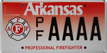 Vanity Arkansas License Plates