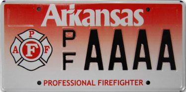 Vanity Arkansas License Plates